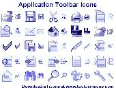 Application Toolbar Icons Screenshot