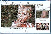 Screenshot of Artensoft Photo Mosaic Wizard