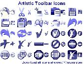 Artistic Toolbar Icons Screenshot