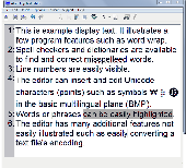 Screenshot of Atom Imp Text Editor