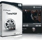 Screenshot of Aunsoft TransMXF for Mac