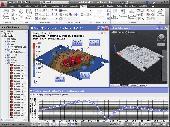 AutoFEM Forced Oscillations Analysis Screenshot