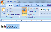 Autocomplete for Microsoft Word Screenshot
