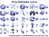 Screenshot of Avia Software Icons