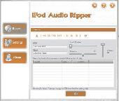 Screenshot of BHT iPod Audio Ripper