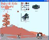 Baby Kids Keyboard Free Edition Screenshot