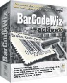 Screenshot of BarCodeWiz ActiveX Component