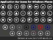 Bar Icons for Windows Phone Screenshot