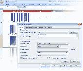 Barcode Generator ActiveX/OCX TBarCode Screenshot