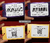 Screenshot of Barcode for Manufacturing Industry