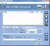 Batch JPEG to PDF Converter Screenshot