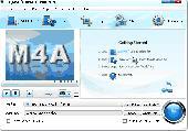 Bigasoft M4A Converter Screenshot