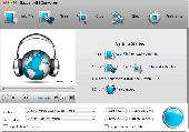 Bigasoft MP3 Converter for Mac Screenshot