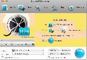 Bigasoft MP4 Converter for Mac Screenshot