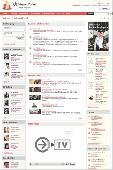 Screenshot of Bitrix Intranet Portal
