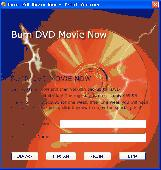 Burn DVD Movie Now Screenshot
