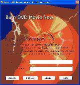 Burn DVD Movie Now Screenshot