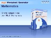 CMZ2 Worksheet Generator for Math Screenshot