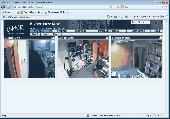 C-MOR IP Video Surveillance VM Software Screenshot