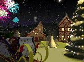 Christmas Holiday 3D Screensaver Screenshot