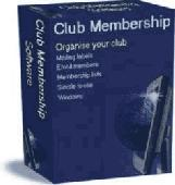 Club Membership Software Screenshot