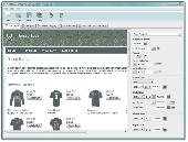 CoffeeCup Shopping Cart Designer Screenshot