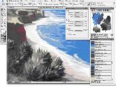 Corel Painter X for Macintosh Screenshot