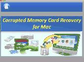 Corrupted Memory Card Recovery for Mac Screenshot