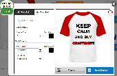 Screenshot of CraftShirt Design Software