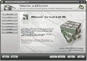 Screenshot of DBConvert for Excel & MS SQL