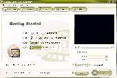 Daniusoft DVD to 3GP Converter Screenshot