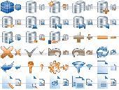 Database Toolbar Icons Screenshot