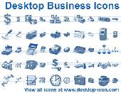 Desktop Business Icons Screenshot