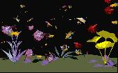 Digital Aquarium Screensaver Screenshot