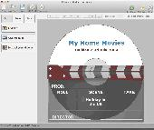 Screenshot of Disketch Free CD Label Software for Mac