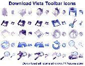 Download Vista Toolbar Icons Screenshot