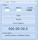 Egg Timer Software Screenshot