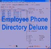 Employee Phone Directory Deluxe Screenshot