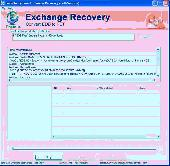 Screenshot of Exchange Mailbox Recovery Program