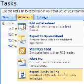 ExportZen SharePoint List CSV Export Screenshot