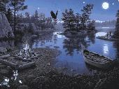Fairy Lake Screensaver Screenshot