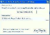 Fast File Download ActiveX Screenshot