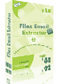 Screenshot of Files Email Extractor