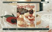 FlashBook Templates for Delicious Cake Style Screenshot