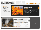 Flash Info Board Screenshot