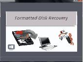 Screenshot of Formatted Disk Recovery