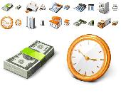 Screenshot of Free Business Desktop Icons