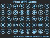 Free WP7 Icons Screenshot