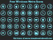 Free Windows Metro Icons Screenshot