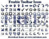 Freebie Toolbar Icons Screenshot